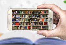 Online education on smartphone